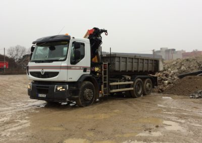 CAMION 10T Grue 320